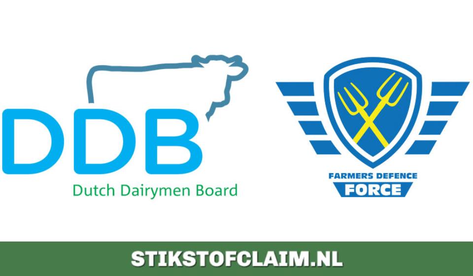 logo's FDF, DDB, Stikstofclaim
